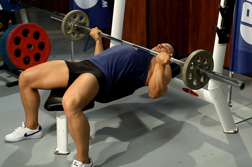 Exercise Reverse Triceps Bench Press