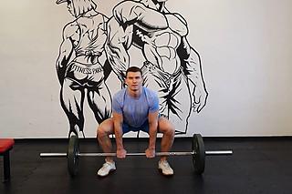 Wide Stance Stiff Legs