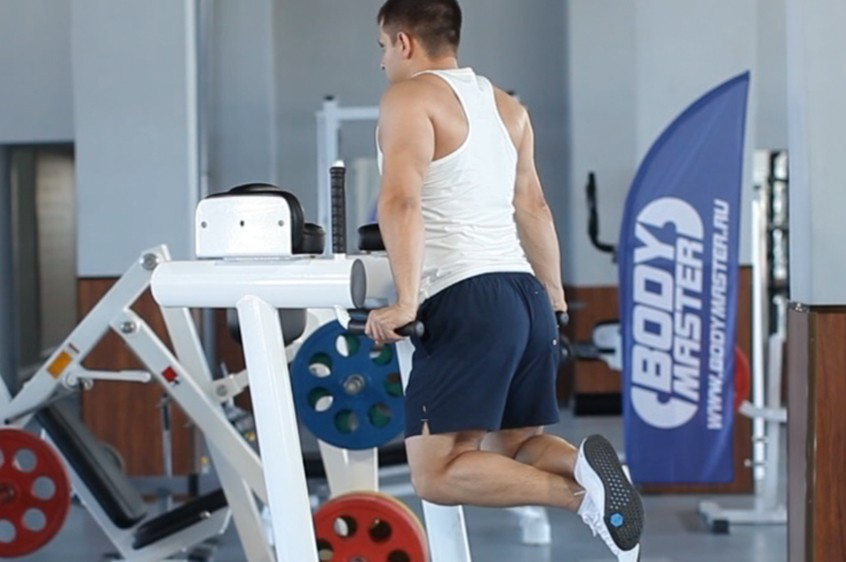 Exercise Dips - Triceps Version
