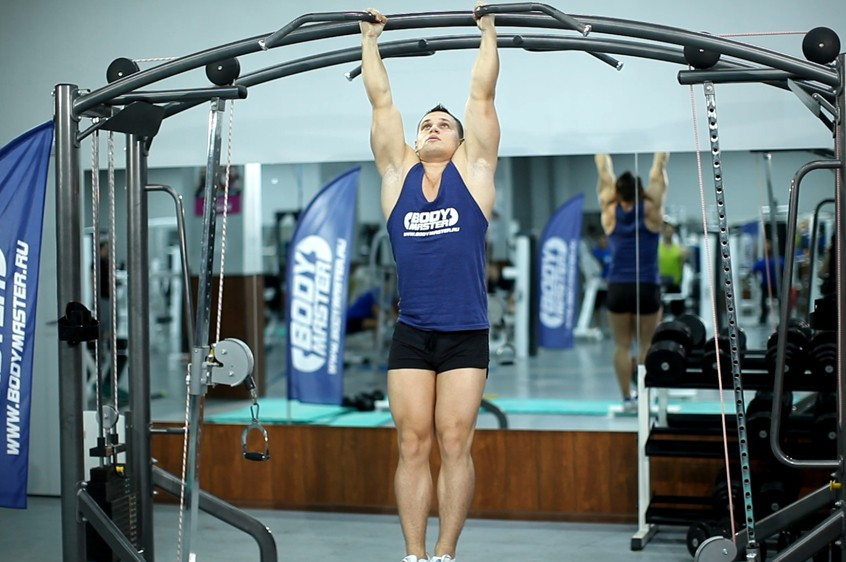 Exercise Hanging Leg Raise