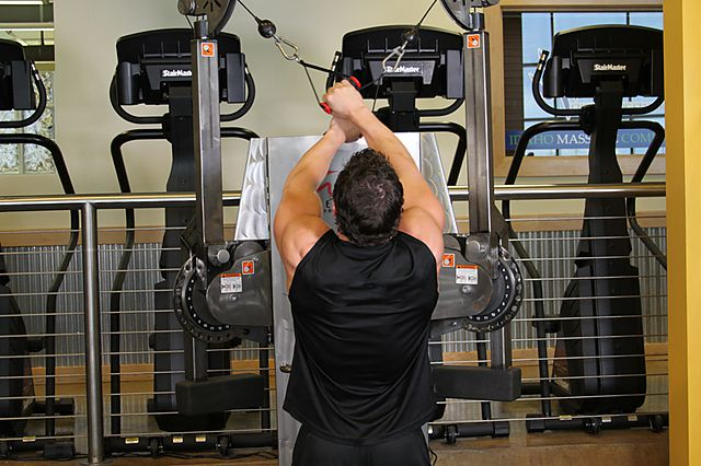 Photo of Full Range-Of-Motion Lat Pulldown exercise