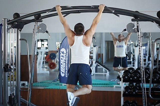 Photo of Pullups  exercise