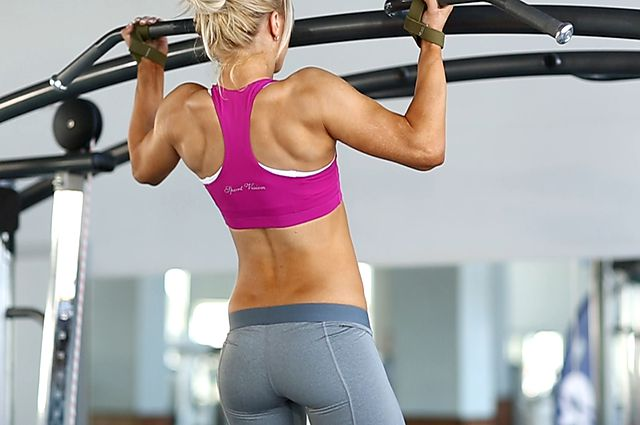 Photo of Wide-Grip Rear Pull-Up  exercise