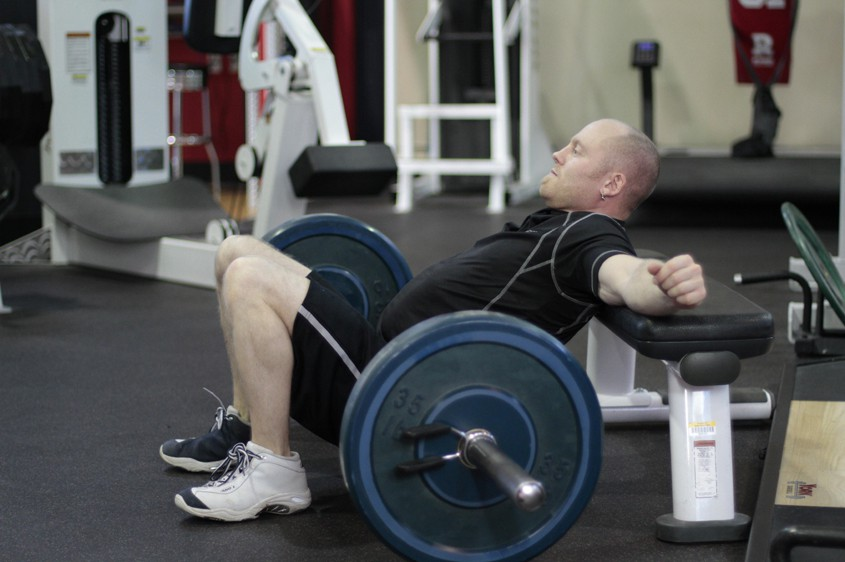 Exercise Barbell Hip Thrust