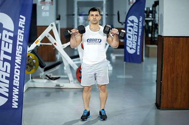 Photo of Standing Dumbbell Reverse Curl  exercise