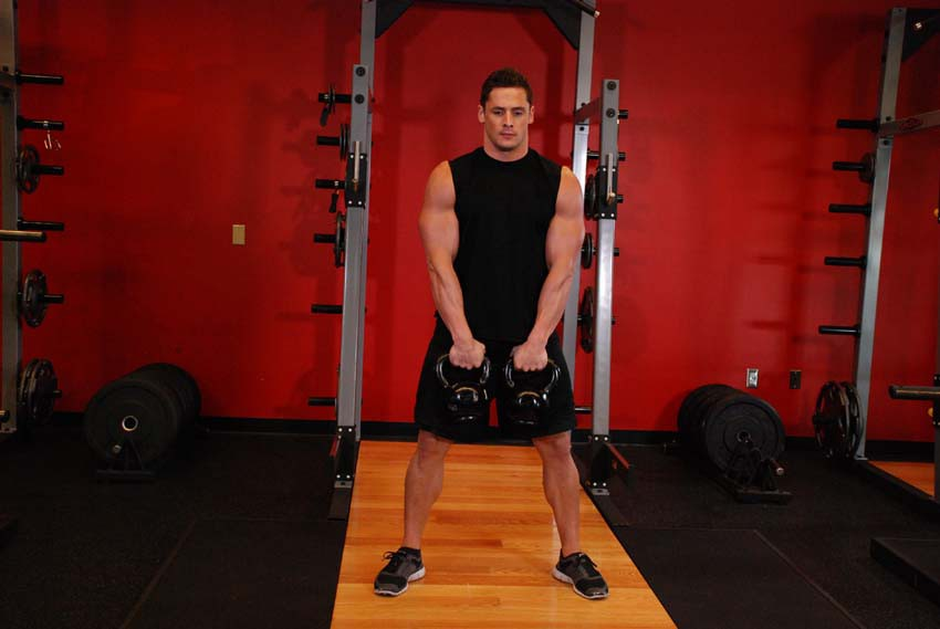 Exercise Alternating Hang Clean