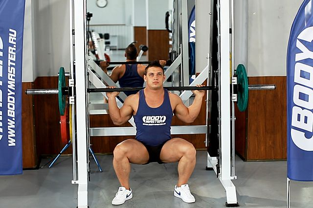 Photo of Smith Machine Squat exercise