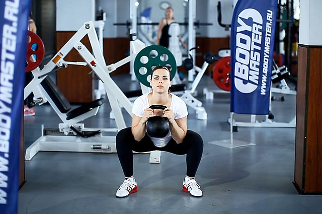 Photo of Goblet Squat exercise