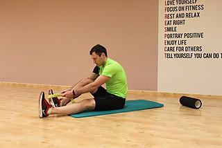 Растяжение мышц задней поверхности бедра