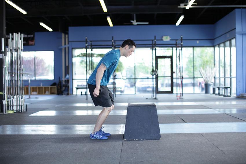 Exercise Прыжки на подставку