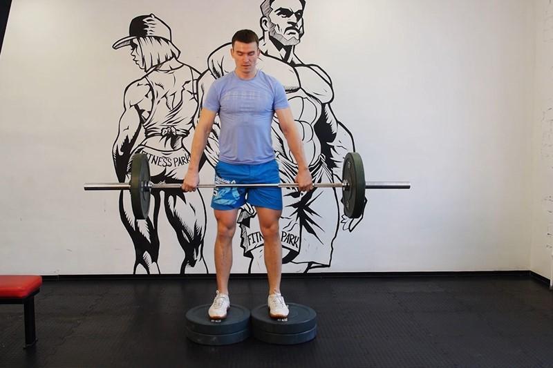 Упражнение Румынская становая тяга (вариант 2)