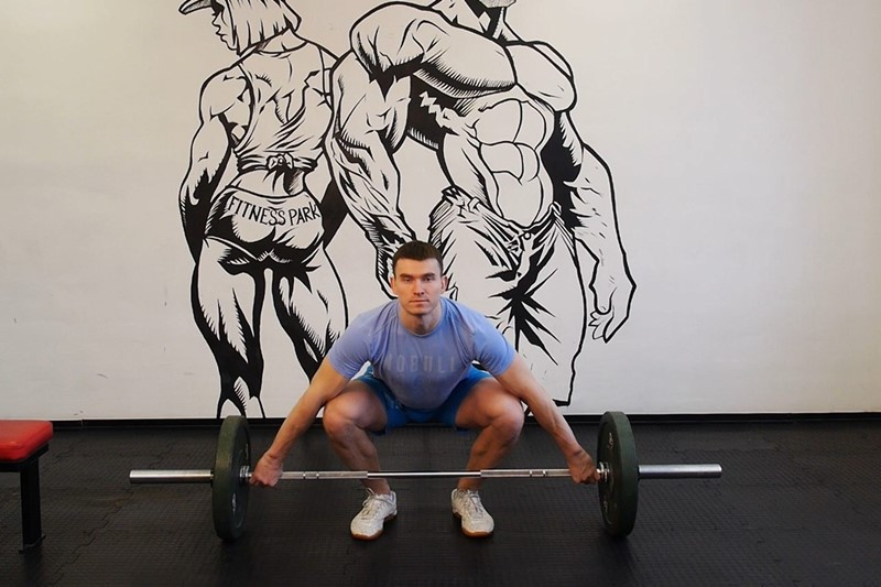 Упражнение Рывковая становая тяга