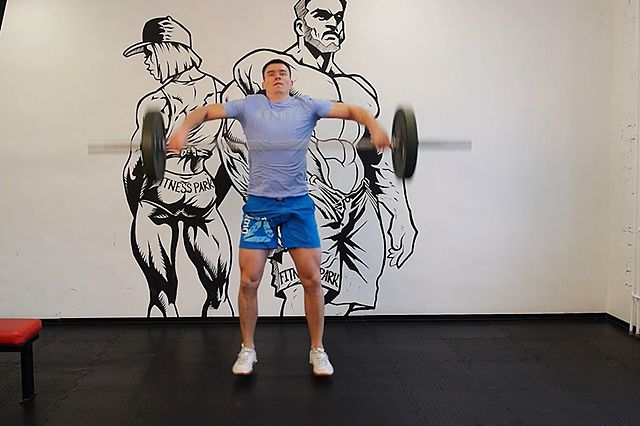 Photo of Power Snatch exercise