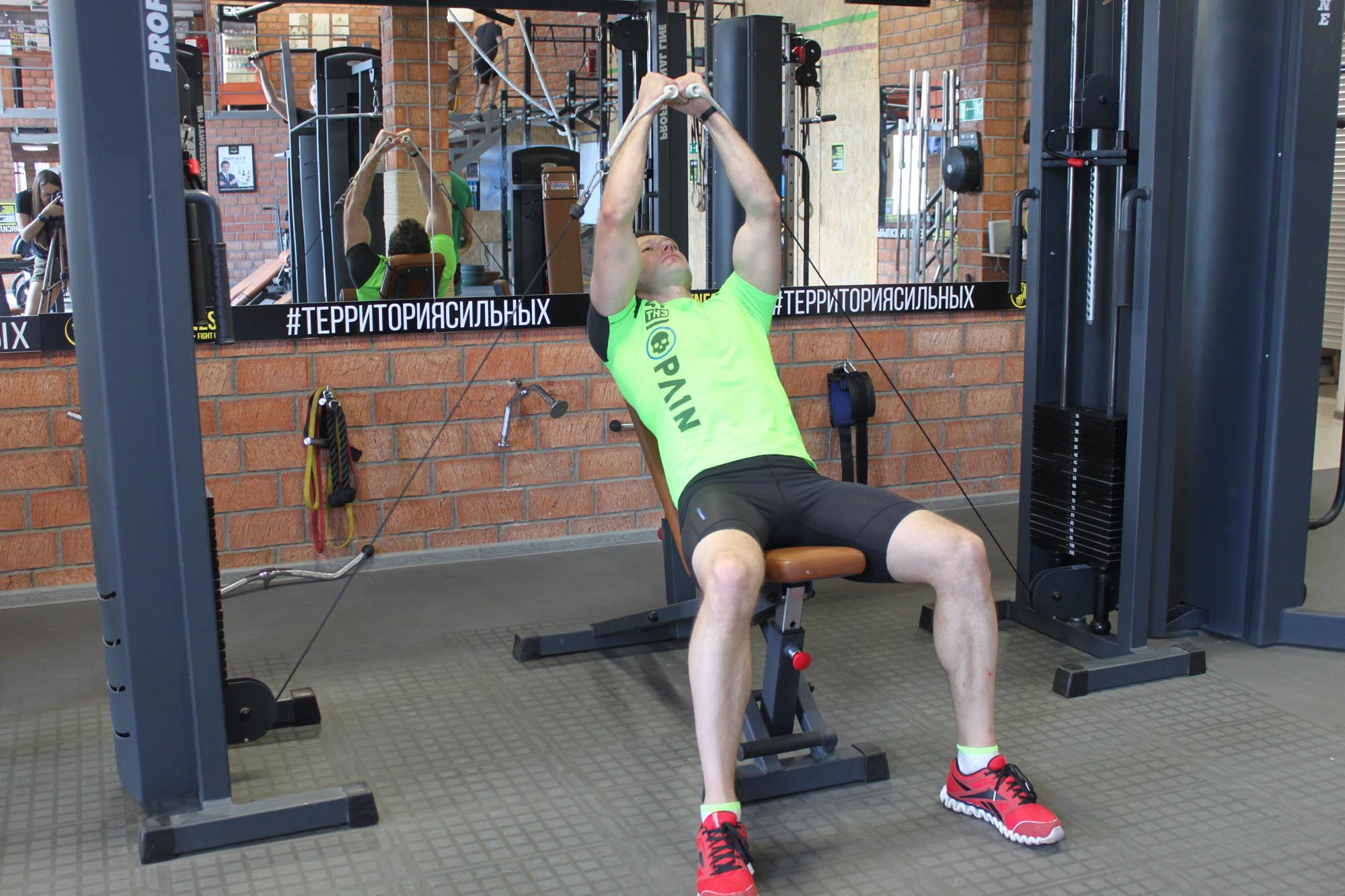 Exercise Incline Cable Flye