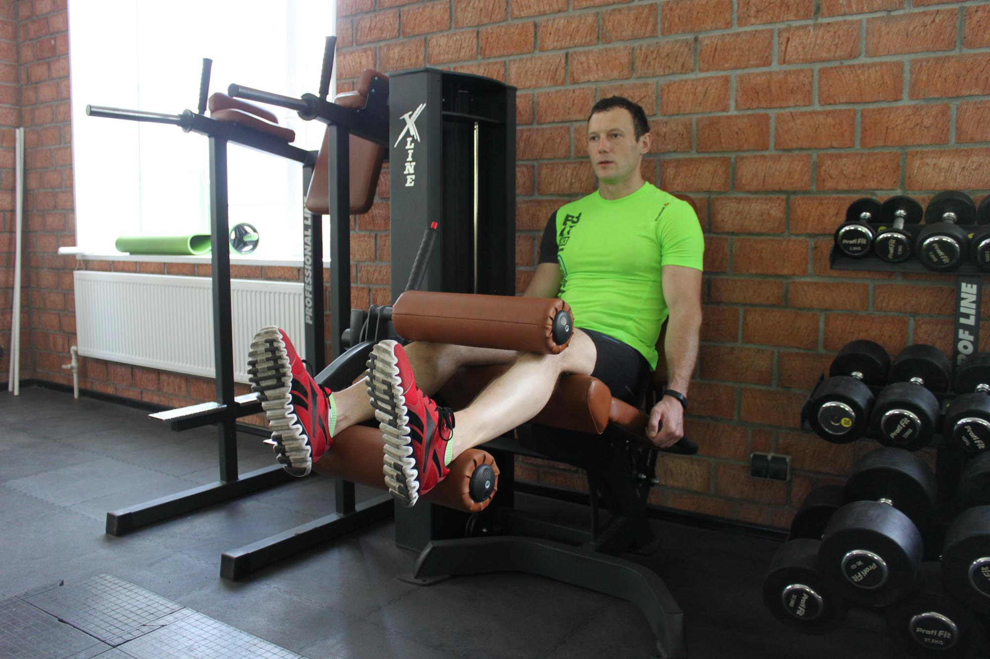 Exercise Seated Leg Curl