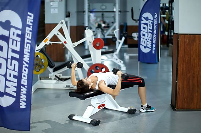 Photo of Dumbbell Bench Press exercise