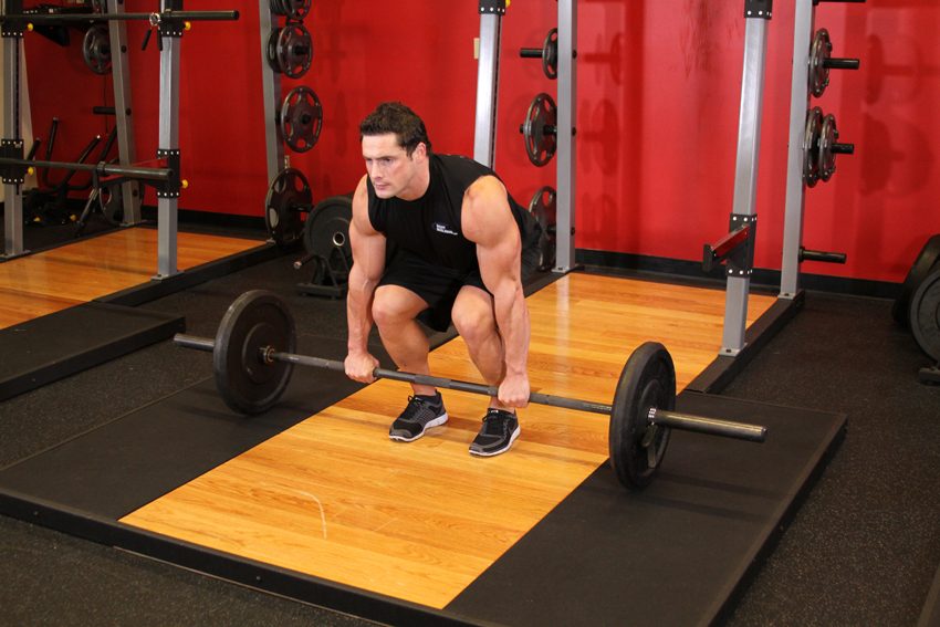Exercise Snatch Deadlift
