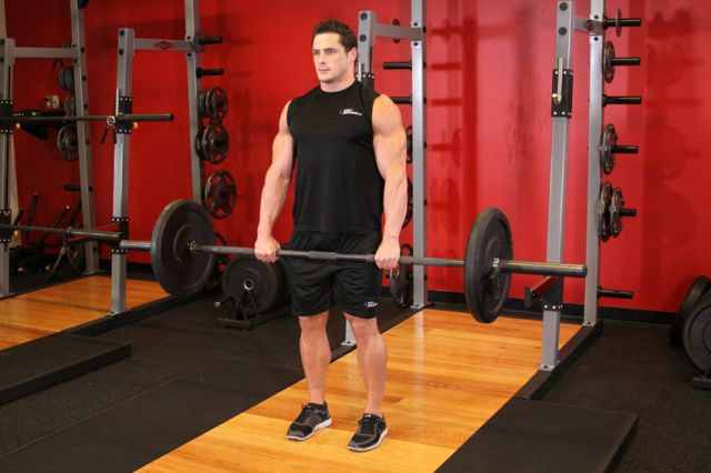 Photo of Snatch Deadlift  exercise