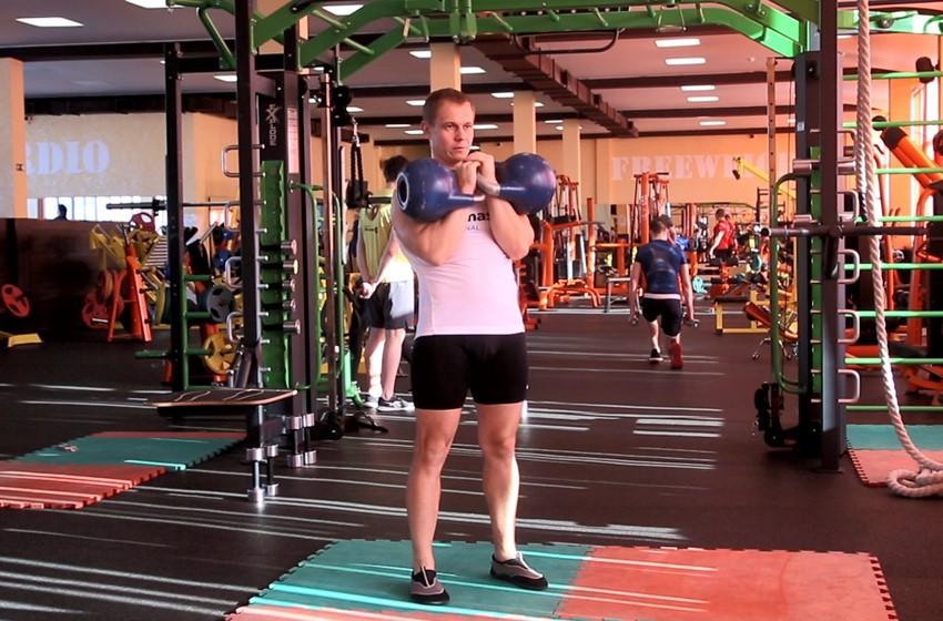 Exercise Double Kettlebell Jerk