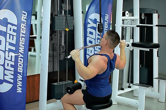 Photo of Wide-Grip Lat Pulldown  exercise