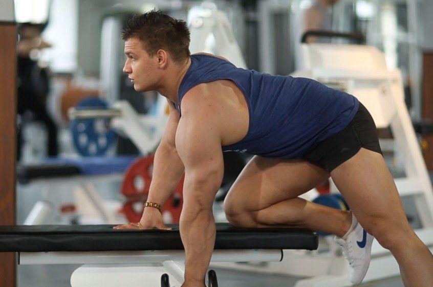 Exercise One-Arm Dumbbell Row