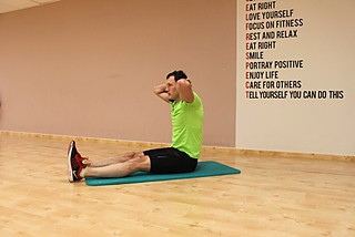 Chin To Chest Stretch