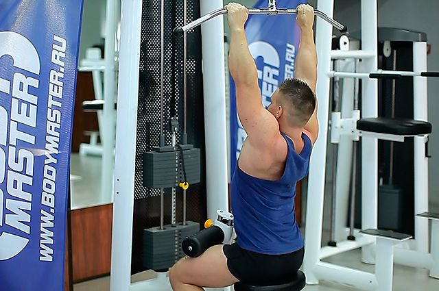 Photo of Close-Grip Front Lat Pulldown  exercise