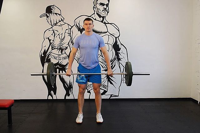 Photo of Hang Clean exercise