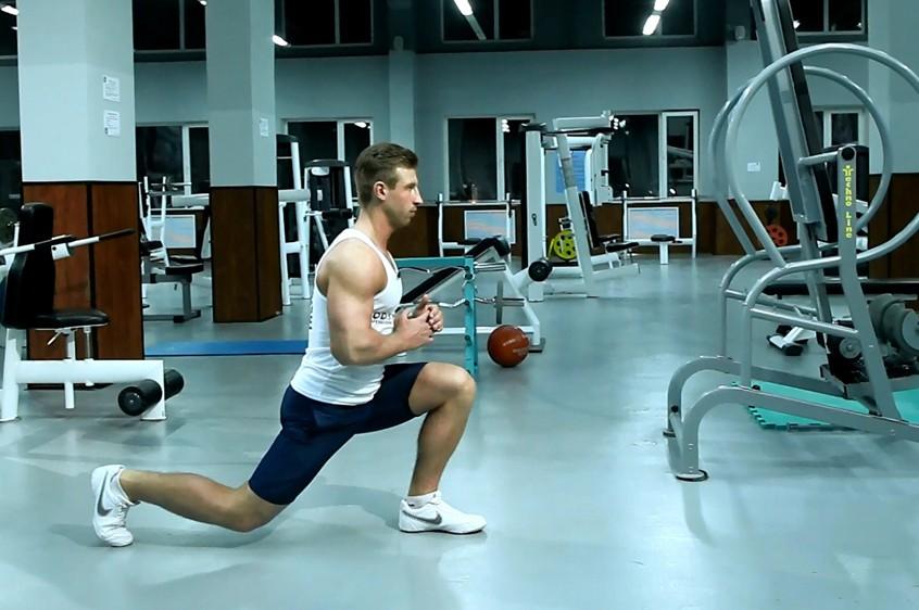 Exercise Split Squats