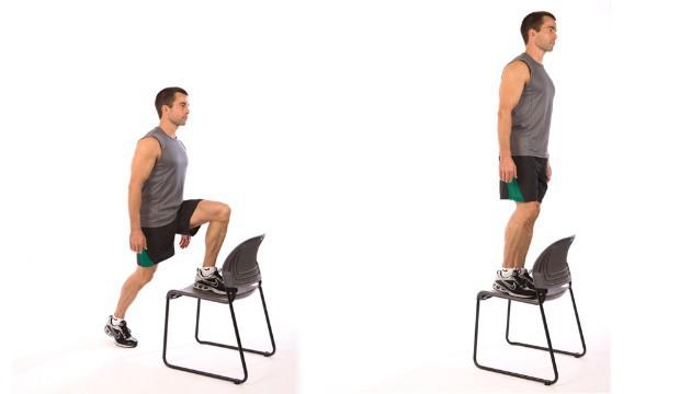 Exercise Подъёмы на опору