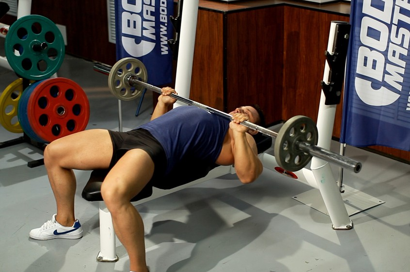 Exercise Close-Grip Barbell Bench Press