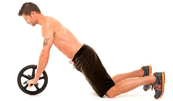 Упражнение Пресс с роликом