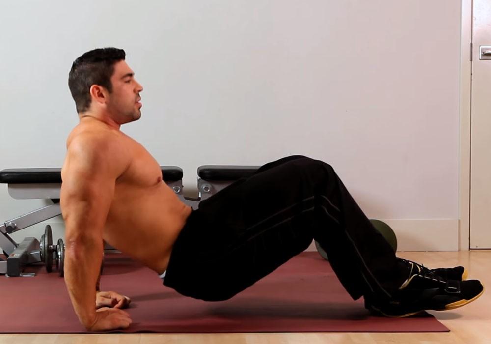Exercise Обратные отжимания от пола