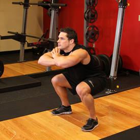Exercise Приседания с выпрыгиванием