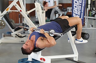 Decline Close-Grip Bench To Skull Crusher