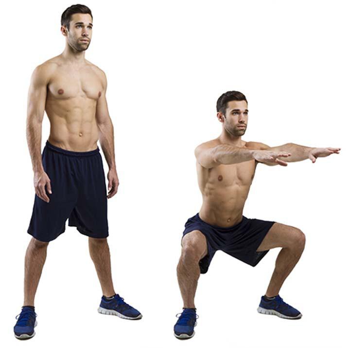 Exercise Приседания плие без веса