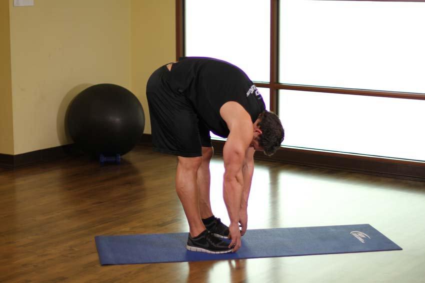 Exercise Наклоны вперед