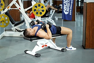 Dumbbell Bench Press with Neutral Grip
