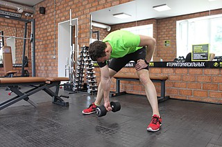 Standing Concentration Curl