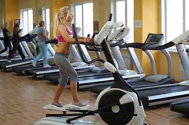 Photo of Elliptical Trainer exercise