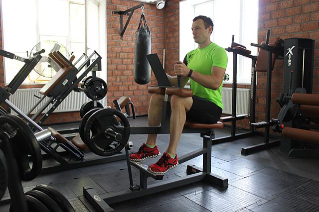 Photo of Seated Calf Raise exercise