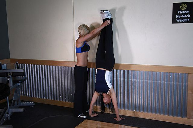 Photo of Handstand Push-Ups  exercise