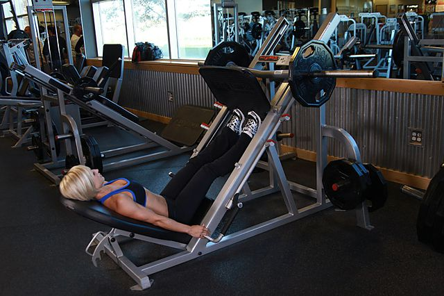 Photo of Calf Press On The Leg Press Machine exercise