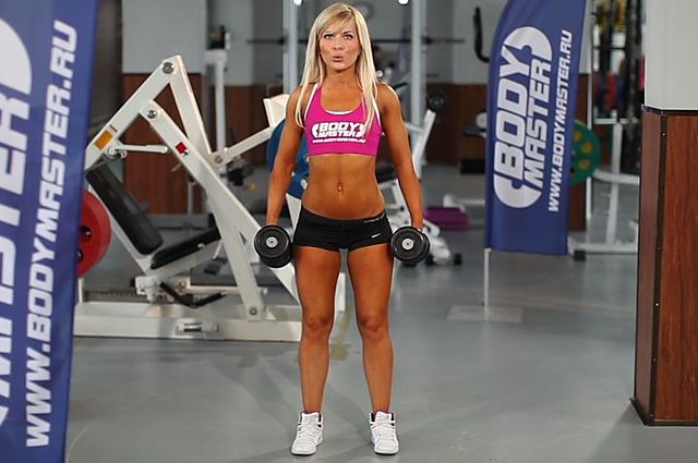 Photo of Dumbbell Squat exercise