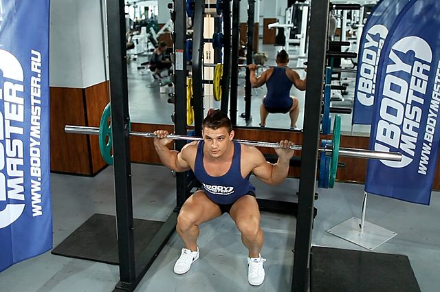 Photo of Barbell Full Squat exercise
