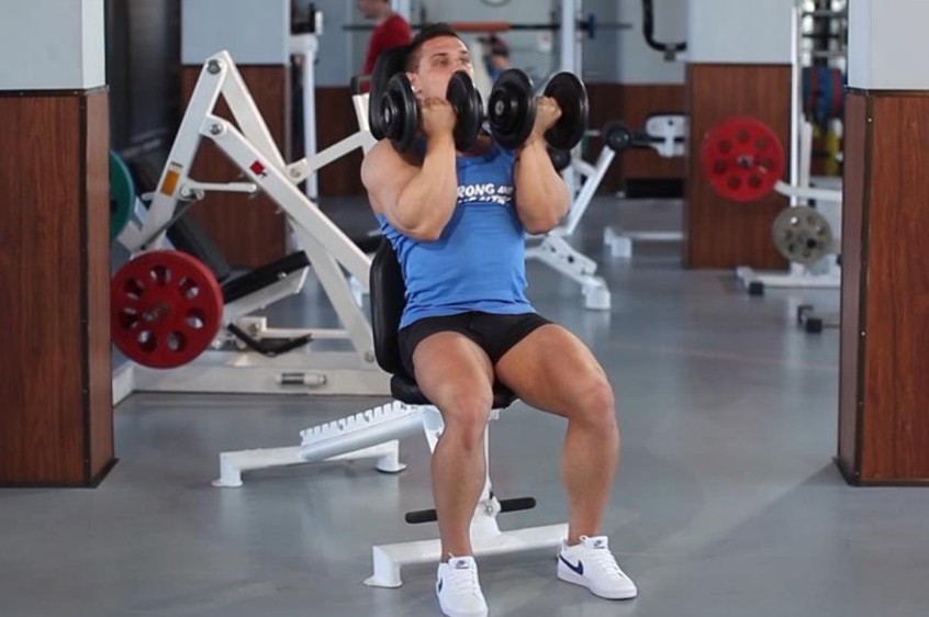 Exercise Arnold Dumbbell Press