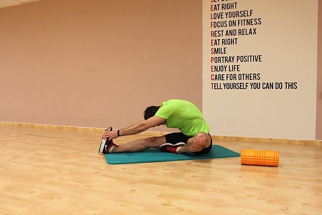 Photo of Seated Floor Hamstring Stretch exercise