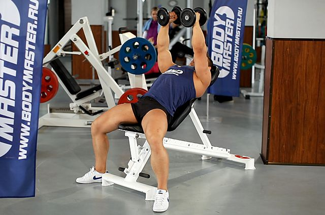 Photo of Incline Dumbbell Flyes exercise