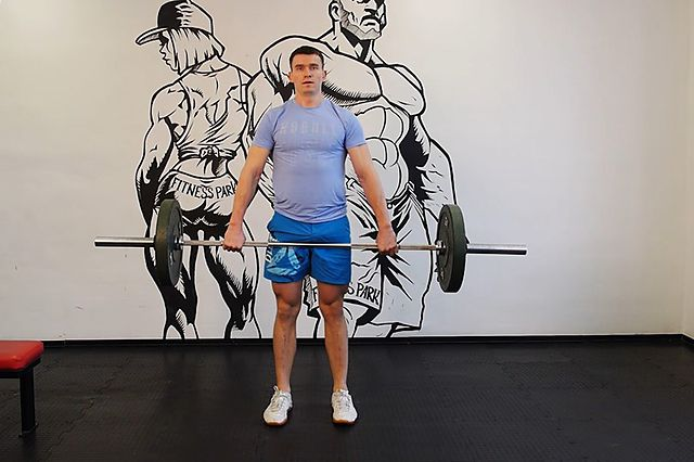 Photo of Clean Deadlift  exercise