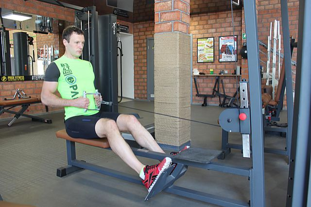 Photo of Seated Cable Rows  exercise